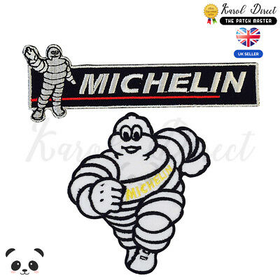 Michelin Racing Sponsor Embroidered Iron On /Sew On Patch Badge For Clothes etc