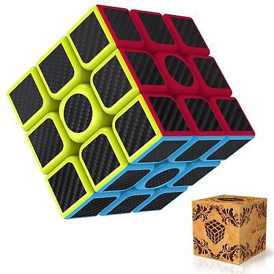 3x3x3 Smooth Speed Magic Rubiks Cube Puzzle Easy Twist Educational Gift Toys New