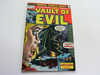 Vault Of Evil  #11  June 1974  Beautiful Smooth Cover   Kirby Art  Very Fine+