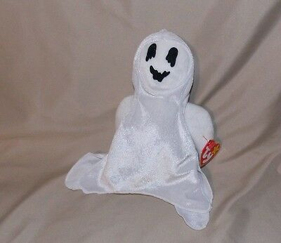 Ty Beanie Babies Baby White Sheets the Ghost 1999 with tags
