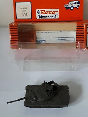 Roco Minitanks H0 391 Modern German Army Leopard A1A1 Battle Tank Bundeswehr