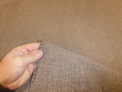 Job Lot - 10m length of OAK BROWN - Chenille Weave Upholstery Fabric