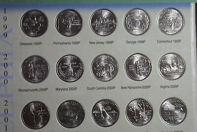 Uncirculated 1999-2009 P&D U.S. State and Territories Quarter Set 112 Coins