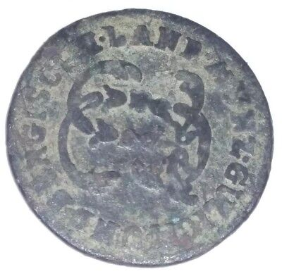 German States Julich Berg 1/4 Stubber 1788