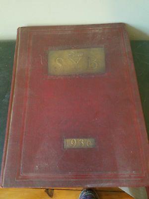 1936 The SYB Concord New Hampshire High School Yearbook