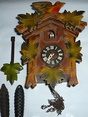 Vintage Cuckoo Clock schmeck ?  Runs Complete. Little love and attention needed.
