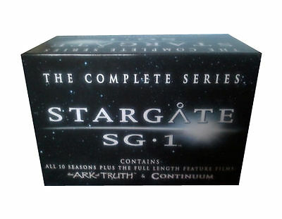 Stargate S.G. 1 - Series 1-10 - Complete/The Ark Of Truth/Continuum (DVD, 2008)