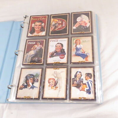 1994/95 Series 3 &4 COCA-COLA Trading Card sets- COMPLETE by Collect-A-Card