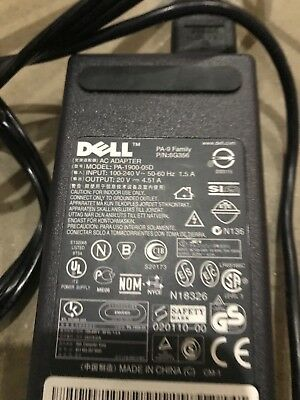 Dell OEM Laptop AC Adapter PA 9 Family Model 1900 05D 90