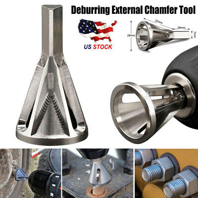 Deburring External Chamfer Tool Stainless Steel Remove Burr Tools Drill Bit Tool