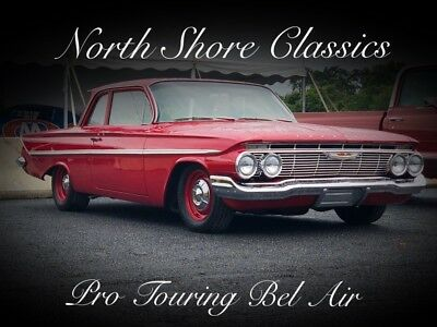 1961 Bel Air/150/210 -CLEARANCE-6.0 LS ENGINE-REDUCED $-EASY FINANCING- Red Chevrolet Bel Air with 19,147 Miles available now!