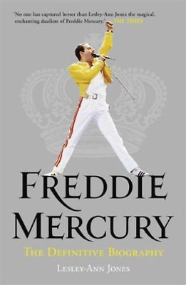 Jones, Lesley-Ann-Freddie Mercury: The Definitive Biography BOOK NEW