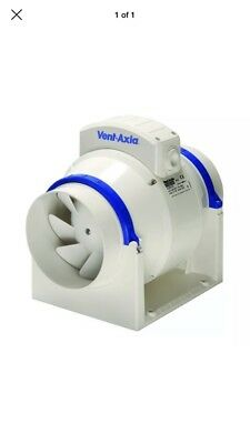 """Vent Axia ACM200 In-line Mixed Flow Duct Fan 200mm 8"""""""