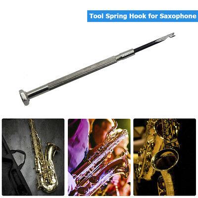 Woodwind Pipe Instrument Repair Tool Spring Hook Tools for Saxophone Clarinet