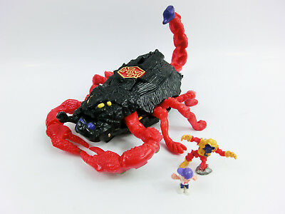 Mighty Max Scorpion Mini Playset Vintage Horror Bluebird
