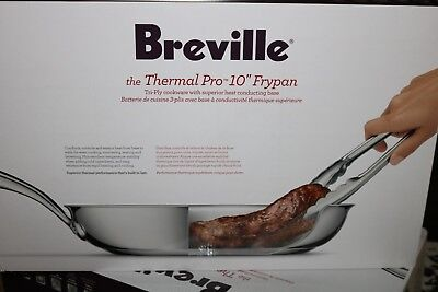 Breville Thermal Pro10 Inch Frypan Hard-Anodized Nonstick Skillet MSRP $99.99