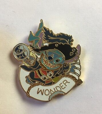 Disney Cruise DCL Pin - LE 75 - Stitch - Pirate Wonder - Frame Set - VHTF