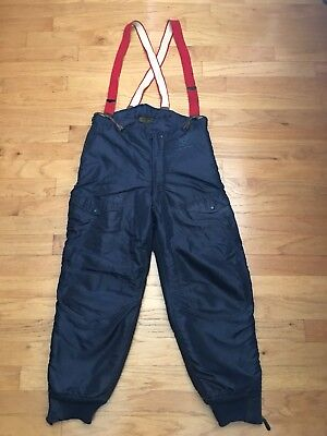 US Air Force Extreme Cold Weather Military Flight Pants Insulated 36W x 30L USED