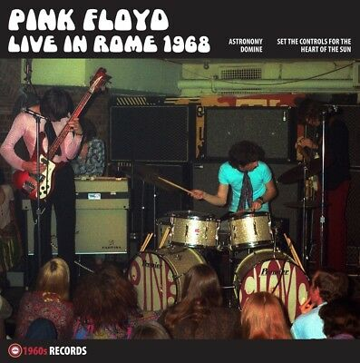 """PINK FLOYD  Live in Rome 1968   12"""" SINGLE"""