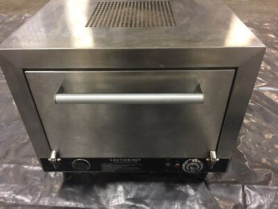 """Commercial Pizza Oven Nemco 6205-240 Counter Top Double 19"""" Stone Deck 240v"""