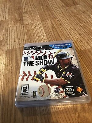MLB 13: The Show (Sony PlayStation 3, 2013) CT1