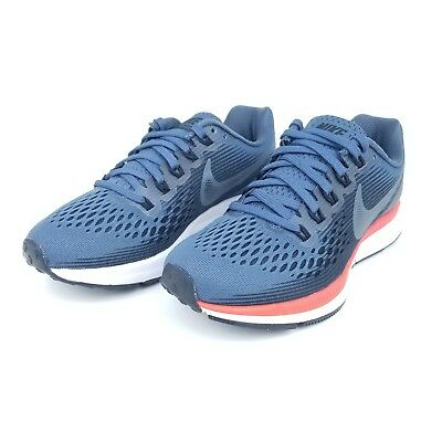 super popular 92c4e 2f6b5 Nike Air Zoom Pegasus 34 Womens Running Shoes Blue Fox Crimson 880560 403  Size
