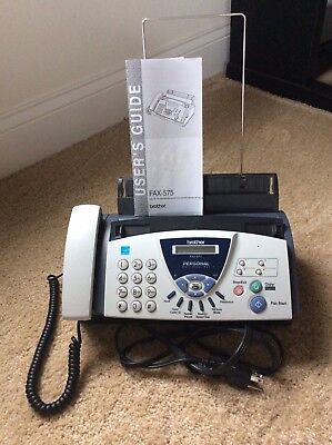 Brother FAX-575 Personal Fax, Phone, and Copier / Pre-Owned