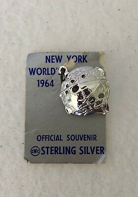 Vintage Sterling Silver 3-D 1964-65 New York World's Fair Unisphere Charm w/ Tag