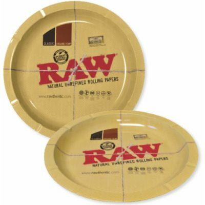 Raw Large Round Rolling Tray Rawthentic Accessory 30.5 X 30.5cm