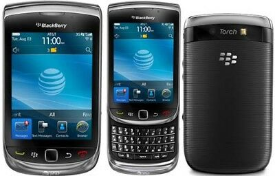 Blackberry 9800 Torch 3G Mobile Phone-Unlocked With New Chargar And Warranty