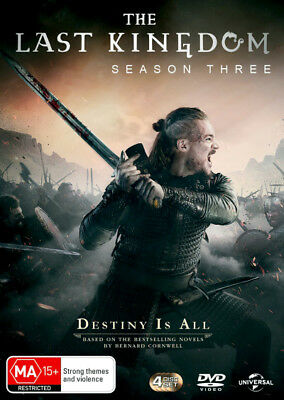 The Last Kingdom: Season 3  - DVD - NEW Region 4, 2