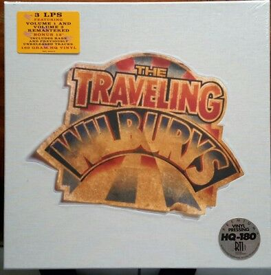 The Traveling Wilburys~Collection~Factory Sealed  2007 3LP Box Set HQ-180 Limite