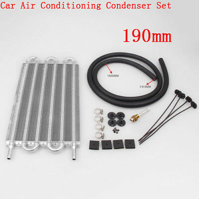 High quality 190mm Car Auto Tube Type Air Conditioning Condenser Kit Aluminum