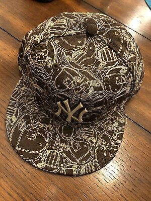 893647c5a67 New York Yankees New Era Brown Tan Mlb Hat Of Hats Fitted Size 7 5