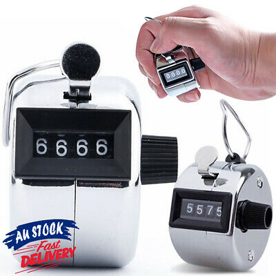 High Quality Manual Sale Hand Held 4 Digit Number Clicker Tally Counter