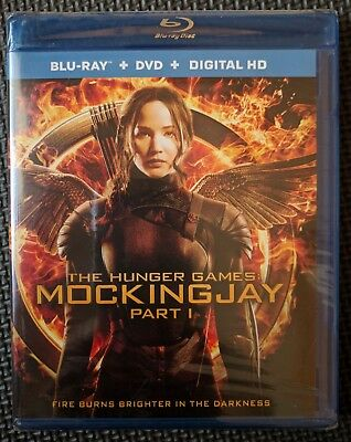 The Hunger Games: Mockingjay - Part 1 [Blu-ray + DVD + Digital HD] New & Sealed