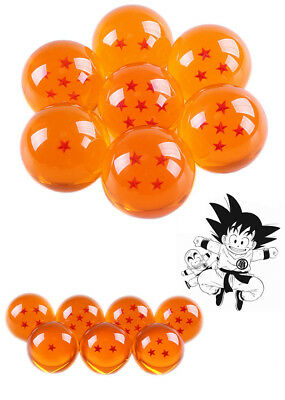 7Pcs Stars Dragon Ball Z Crystal Balls Set Collection In Box Set Gifts 3.5cm