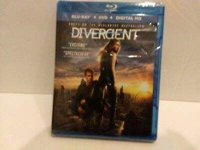 DVD Divergent Blue-Ray& DVD& Digital DVD Rated PG-13
