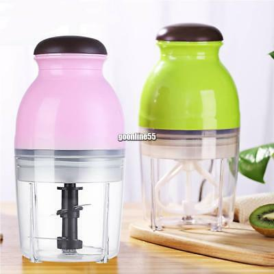 Durable Portable Mini Rechargeable Double-Layered Juice Mixer Cup EA9