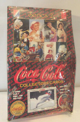 Coca Cola Series 2 Cards Complete Unopened Sealed Box 1994