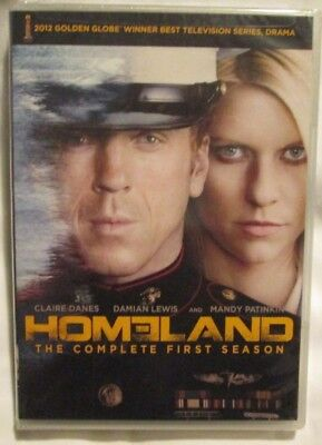 Homeland - The Complete First Season (4-DVD, 2012) Brand new