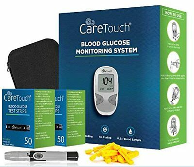 Care Touch Diabetes Testing Kit Blood Glucose ***MISSING BLOOD TEST STRIPS***