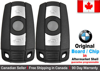 2x New Replacement Keyless Entry Remote Key Fob For BMW KR55WK49123 KR55WK49127