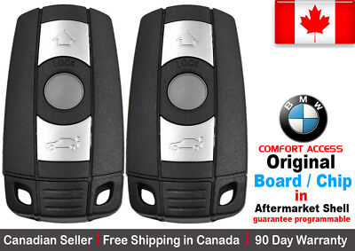 2x OEM New Replacement Keyless Remote Key Fob BMW KR55WK49147 COMFORT ACCESS