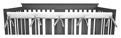 American Baby Company 1 Pack Heavenly Soft Narrow Reversible Crib Rail Cover for