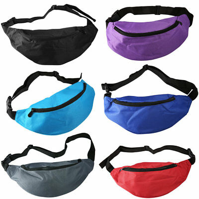 Outdoor Sport Running Bum Bag Woman Man Fanny Pack Travel Handy Waist Bag YT