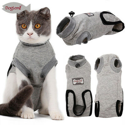 Hot Pet Cat Dog Recovery Suit Sterilization Care Prevent Lick After Surgery Wear