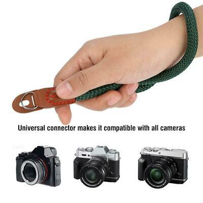 Fashion Leather SLR Camera Hand Wrist Strap Belt For Sony Canon Nikon Panasonic