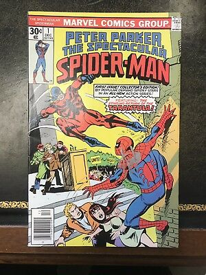 Peter Parker Spectacular Spider-Man #1 Stan Lee Signed Autograph NM