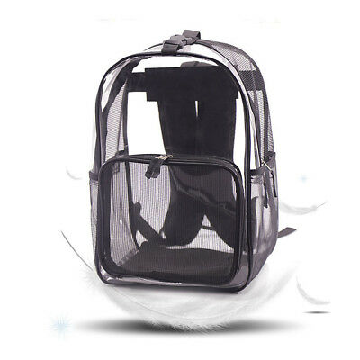 Pet Carrier Travel Transparent Breathable Backpack Pet Dog Cat Puppy Carrier Bag